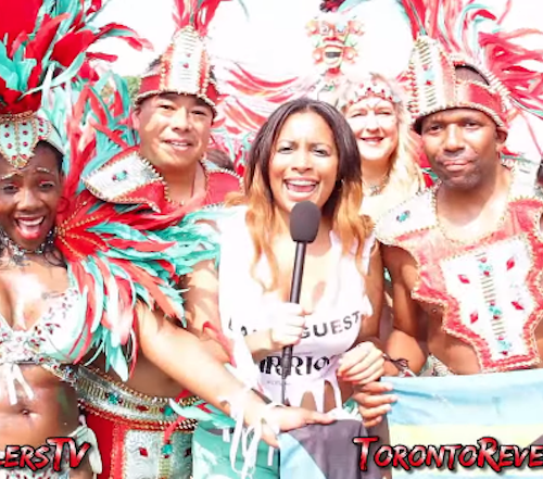 Toronto Caribana with the Revellers