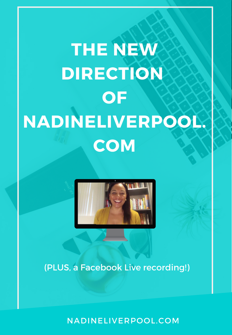 The New Direction of Nadineliverpool.com | Nadineliverpool.com