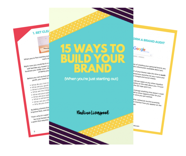15 Ways to Build Your Brand Free eBook