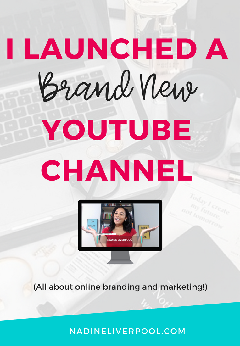Check out my brand new YouTube channel where I'll be sharing weekly videos on how to build, grow, and monetize your online brand! | Nadineliverpool.com