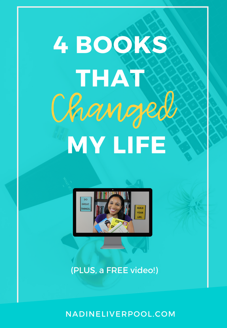 In this video, I discuss the 4 books that changed my life. These life-changing books are definitely books to read for 2018. They are some of the best books to read for self-development, business, and mindset. Check out my favorite books and leave your book recommendations in the comments below! Nadineliverpool.com