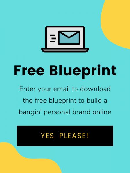 personal branding blueprint | nadine liverpool